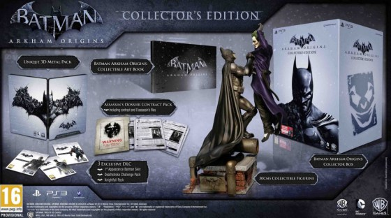 Coffret collector Batman Arkham Origins