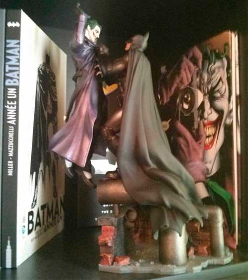 statuette batman arkham origins